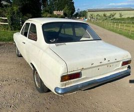 EARLY 1968 MK1 ESCORT 2 DOOR SALOON - LHD PROJECT CAR IDEAL ROAD GRP4 RALLY ETC