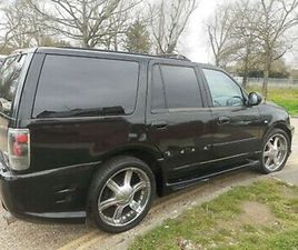 1998 FORD EXPEDITION 4.6 PETROL LOW MILEAGE 77000 AUTO GEARBOX LONG MOT. FUL V5