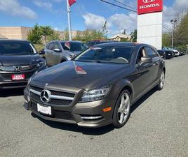 2013 MERCEDES-BENZ CLS550 4MATIC COUPE POWERFUL AFFORDABLE LUXURY **CLEAN CL
