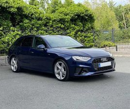 2021 AUDI A4 S LINE 35TDI AUTO AVANT BLACK PACK FOR SALE IN DUBLIN FOR €52,990 ON DONEDEAL