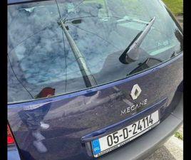 05 RENAULT MEGANE FOR SALE IN DUBLIN FOR €1,200 ON DONEDEAL