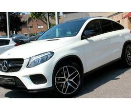 MERCEDES-BENZ GLE 350 D COUPE 4M AMG HUD PANO 360° 21ALU