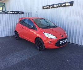 USED 2015 FORD KA 1.2 GRAND PRIX 3DR HATCHBACK 44,384 MILES IN RED FOR SALE | CARSITE