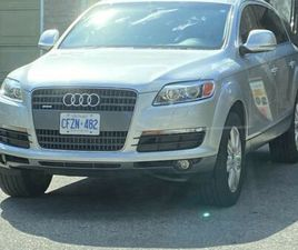 AUDI Q7 4.2 AWD LIKE NEW NEW FROM INSIDE AND OUTSIDE   CARS & TRUCKS   KITCHENER / WATERLO