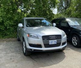 AUDI Q7 4.2 AWD LIKE NEW NEW FROM INSIDE AND OUTSIDE   CARS & TRUCKS   MISSISSAUGA / PEEL
