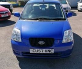 USED 2007 KIA PICANTO GS 1 NOT SPECIFIED 31,300 MILES IN BLUE FOR SALE | CARSITE