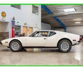 1972 OTHER MAKES PANTERA 72 DETOMASO PANTERA 351CI V8 5-SPEED MANUAL 1-OWNER
