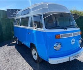 USED 1973 VOLKSWAGEN TRANSPORTER T2 NOT SPECIFIED 15,695 MILES IN BLUE FOR SALE | CARSITE