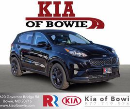 BRAND NEW BLACK COLOR 2022 KIA SPORTAGE LX FOR SALE IN BOWIE, MD 20716. VIN IS KNDPM3AC1N7