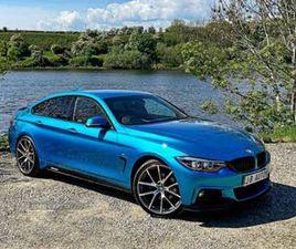 2017 BMW 4 SERIES 2.0TD 420D M SPORT (S/S) GRAN COUPE 5D AUTO - £19,250