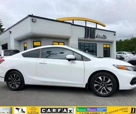 2014 HONDA CIVIC COUPE EX / TOIT OUVRANT / MAGS / CAMERA ANGLE MORT