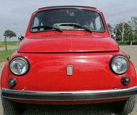 FIAT 500 110F BERLINA 500L H-ZULASSUNG ABARTH FALTDACH