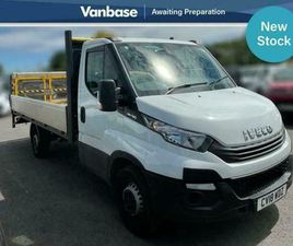 2018 IVECO DAILY 2.3 DROPSIDE 3450 WB HI-MATIC EXTRA LONG WHEELBASE L4H1 LOW ROO