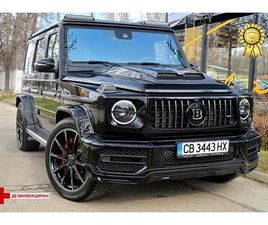 MERCEDES-BENZ G 63 AMG STRONGER THAN TIME BRABUS 700