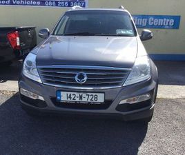 2014 SSANGYONG REXTON BUSINESS EDITION CREW CAB FOR SALE IN TIPPERARY FOR €14,500 ON DONED