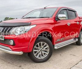 2017 MITSUBISHI L200 2.4 DI-D 178 BARBARIAN MANUAL FOR SALE IN ANTRIM FOR £16,250 ON DONED