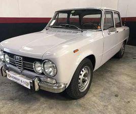 ALFA ROMÉO GIULIA SUPER 1300 DE 1972 À VENDRE