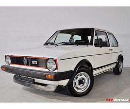 VOLKSWAGEN GOLF 1 GTI 1.6I 110CV DE 1982 À VENDRE