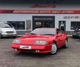 ALPINE GTA V6 DE 1986 À VENDRE