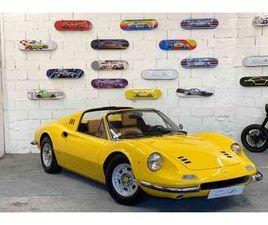 FERRARI DINO 246 GTS DE 1973 À VENDRE