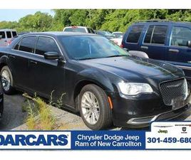 BLACK COLOR 2016 CHRYSLER 300 FOR SALE IN NEW CARROLLTON, MD 20784. VIN IS 2C3CCAAG7GH3112