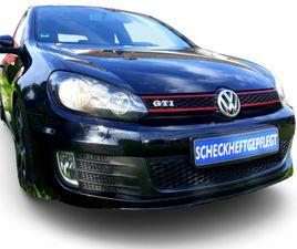 VW GOLF 6 GOLF VL GTI AUTOMATIK **210 PS** AHK ALU SCHECKHEFT