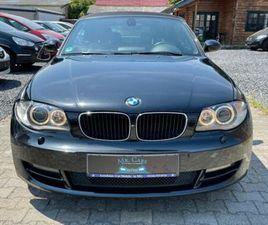 BMW BAUREIHE 1 CABRIO 120D XENON NAVIGATION