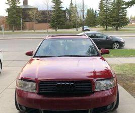 2002 AUDI A4 3.0 AVANT   CARS & TRUCKS   CALGARY   KIJIJI