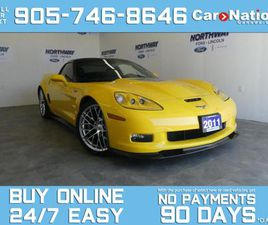 USED 2011 CHEVROLET CORVETTE ZR1 | SUPERCHARGED | 638HP | LEATHER | NAV | RARE!