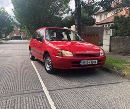 TOYOTA STARLET (LOW MILAGE) FOR SALE IN DUBLIN FOR €1,500 ON DONEDEAL