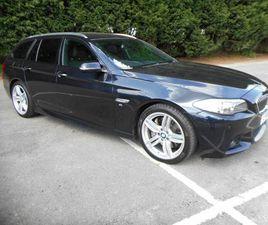 2016 BMW 5 SERIES 3.0TD 535D M SPORT TOURING 5D - £18,995