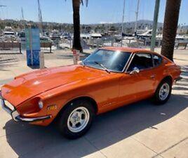 1970 DATSUN Z-SERIES 240Z, SERIES ONE, CALIFORNIA BLUE PLATE **