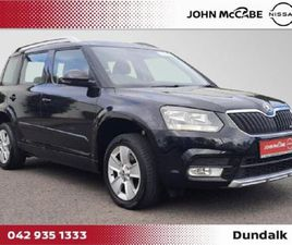 SKODA YETI 1.6 TDI AMBITION GL RETAIL PRICE 15 FOR SALE IN LOUTH FOR €13,450 ON DONEDEAL