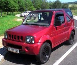 SUZUKI JIMNY 1.3I 16V CABRIO 4WD HARD TOP GANCIO