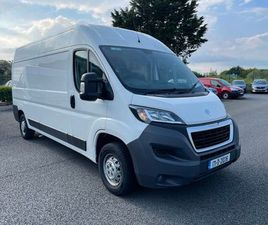 PEUGEOT BOXER 335 L3 H2 2.0 BLUE HDI FOR SALE IN CORK FOR €13,500 ON DONEDEAL