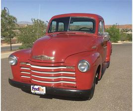 FOR SALE: 1951 CHEVROLET 3100 IN CADILLAC, MICHIGAN