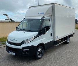 CAMION IVECO DAILY HAYON 20M3