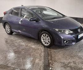 HONDA CIVIC 1.6 I-DTEC EXECUTIVE 5DR FOR SALE IN DUBLIN FOR €16,950 ON DONEDEAL