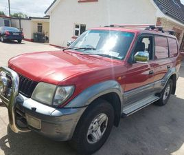 TOYOTA LAND CRUISER FOR SALE IN CAVAN FOR €5,620 ON DONEDEAL