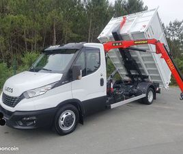 IVECO POLYBENNE GRUE