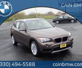 BRONZE COLOR 2014 BMW X1 XDRIVE28I FOR SALE IN NORTH CANTON, OH 44720. VIN IS WBAVL1C51EVR