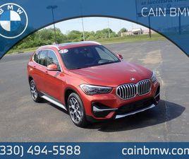 ORANGE COLOR 2020 BMW X1 SDRIVE28I FOR SALE IN NORTH CANTON, OH 44720. VIN IS WBXJG7C06L5R