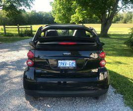 2011 CONVERTIBLE SMART CAR | CARS & TRUCKS | BARRIE | KIJIJI