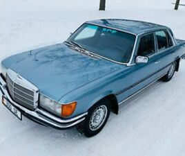 1978 MERCEDES-BENZ S-CLASS 350 SE W116 SEDAN