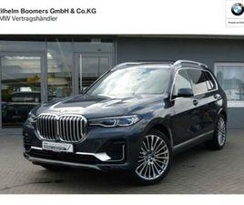 BMW X7 XDRIVE30D PURE EXCELLENCE 7-SITZER AHK H/K AL