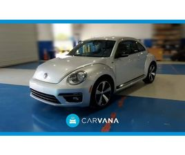 SILVER COLOR 2014 VOLKSWAGEN BEETLE R-LINE FOR SALE IN NEW YORK, NY 10013. VIN IS 3VW4T7AT