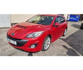 USED 2010 MAZDA 3 2.3T MPS 5DR HATCHBACK 58,000 MILES IN RED FOR SALE | CARSITE