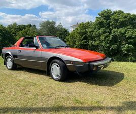1985 FIAT X1/9 BY BERTONE 49K WITH NCT FOR SALE IN DUBLIN FOR €11,950 ON DONEDEAL