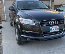 2009 AUDI Q7 SAFETIED   CARS & TRUCKS   WINNIPEG   KIJIJI
