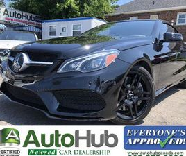 USED 2016 MERCEDES-BENZ E-CLASS E550 CABRIOLET WITH DRIVE ASSIST